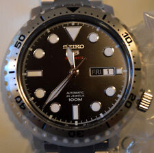 SEIKO BOTTLE CAP AUTOMATIC 4R36 MOVEMENT SRPC61K1 24 JEWELS SPORTS WATCH