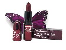 MAC Aaliyah Amplified Creme Lipstick More Than A Woman Deep Red 0.10 oz. NIB