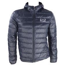 Emporio Armani EA7 Men's down jacket 8NPB02 jacket  Fall / Winter Blue Slim Fit