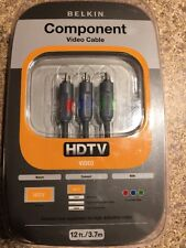 BELKIN COMPONENT VIDEO CABLE HDTV 12 FEET