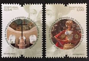 Portugal 2021 - 500 Years Fernão Magalhães Arrival to Philippines set MNH