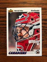 1991-92 Upper Deck #137 Patrick Roy Hockey Card Montreal Canadiens NHL Raw