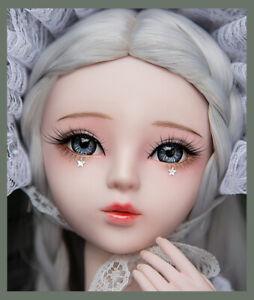 """New 1/3 Handmade PVC BJD MSD Doll Lifelike Doll Joint Doll Girl Gift Emily 24"""""""