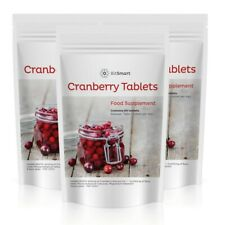 Cranberry Juice 12000mg 60 Tablets Cystitis, Urinary Bladder, Liver UK VEGAN