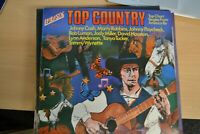 TOP COUNTRY    VARIOUS ARTISTS   LP     EMBASSY   RECORDS  EMB 31024