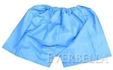 10 PCS Disposable Men's Paper Boxers Panties Underwear Blue 50034