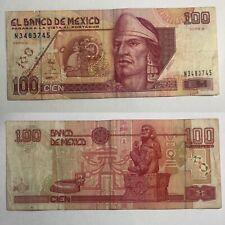 🇲🇽Rare Mexico 100 nuevos pesos 1992 P102 F+Legal Tender World Currency Mexican
