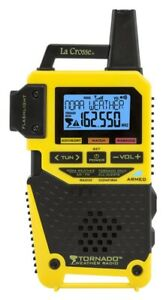 LA CROSSE S83301 7 CHANNEL ALKALINE BATTERY EMERGENCY WEATHER RADIO 7758402
