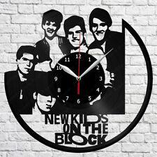 New Kids on The Block Vinyl Record Wall Clock Home Fan Art Decor 12'' 30 cm 7178