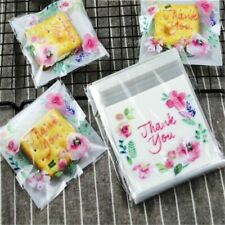 Cellophane Transparent Gift Bag Write Thank You Baking Candy Cookie Party Favors