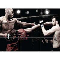 Jon Bones Jones Ufc Mixed Martial Arts Work Giant Poster Picture Print
