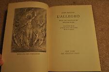 "1954 ""Il Penseroso / L'Allegro"" John Milton Heritage Press Slipcase Very Good"