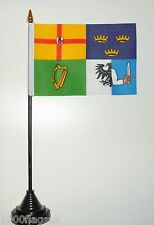 Ireland Connaght Leinster Munster Ulster Polyester Table Desk Flag