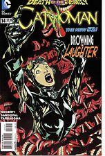 CATWOMAN #14 / DEATH OF THE FAMILY / 1ST PRINT  / BATMAN / NEW 52 / JOKER