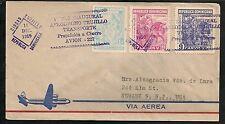 DOMINICAN Republic  -  First Flight Covers Dec. 1959 Newark