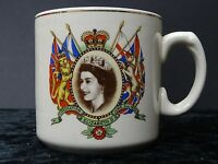 Queen Elizabeth II Coronation 1953 Cup Issued By Borough Of Penryn.