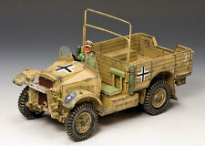 KING & COUNTRY AFRIKA KORPS AK077 CAPTURED BRITISH 15CWT MORRIS TRUCK MIB