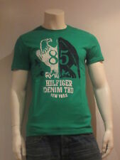 Tommy Hilfiger Denim Felix on Camiseta 3 [ Talla L ] T-Shirt Hombre Verde