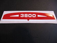 SOLEX AUTOCOLLANT BANDEAU DE FILTRE A AIR 3800