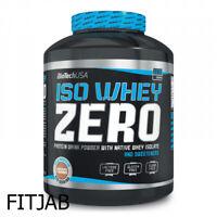 Biotech USA ISO Whey Zero Protéine 2270 g Isolat de Protein Son Gluten