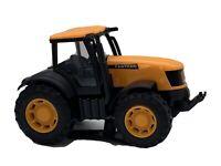 JCB FASTRAC Toy Tractor - JC Bamford Orange & Black Diecast Excavator 11x8cm
