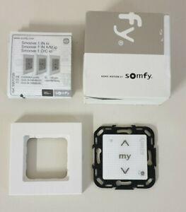 Somfy Smoove Origin  io Pure Shine Funkwandsender  Steuerung mit Rahmen --NEU---