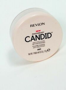 Revlon Photoready Candid Anti-Pollution Setting Powder 001 0.5 oz