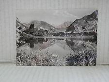 Vecchia cartolina foto d epoca di ROUTE DES GRANDES ALPES ROCHE DE RAME LAC