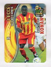 figurina PANINI CALCIO CARDS GAME 2005-06 N. 89 LECCE KONAN