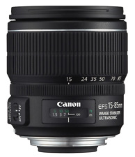 Canon EF-S 15-85mm 1:3.5 -5.6 IS USM Lens-EFS f / 3.5-5.6 15-85 mm MACRO