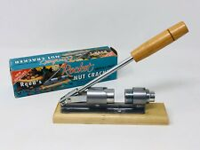 Vintage Reeds Rocket Nut Cracker Model 816 Pecans Walnut Sheller SS19