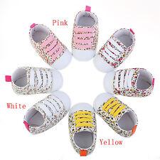 Slip-On Low Top Toddler Baby Boy Girls Canvas Shoes Walking Comfort Yellow 11
