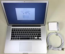 "Apple MacBook Pro 15"" Antiglare A1286 2.2GHz Core i7 16GB RAM 500GB SSD 10.12"