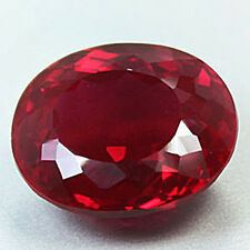 17.30 CT.AWESOME BLOOD RED RUBY OVAL LOOSE GEM