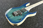 Ibanez RG370 AHMZ BMT Series 6 String Electric Guitar Blue Moon Burst w Warranty