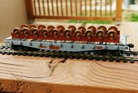 Wheel Car Rack for Flat Car or Gondola - HO Scale - 1:87 - RACK ONLY - SEE DESC!