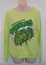 TEENAGE MUTANT NINJA TURTLES TMNT NICKELODEON women's pullover sweater size M