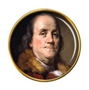 Franklin Benjamin Broche Badge
