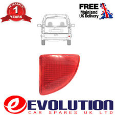 REAR BUMPER RED REFLECTOR RIGHT DRIVER SIDE FITS RENAULT KANGOO 1997 to 2008