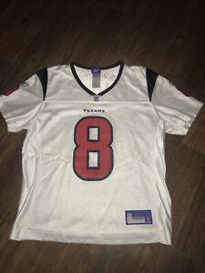 Reebok Authentic NFL Jersey Houston Texans Matt Schaub White Youth medium