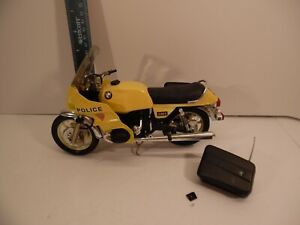 Guiloy BMW R100S Police Motorcycle Model, Ref 13140 1/10