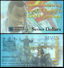 Fiji 7$ 2017 COMMEMORATIVE ISSUE with folder UNC