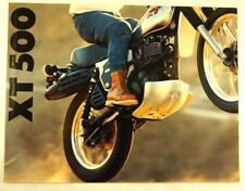 Yamaha TX500 Dirt Bike Trail Motorcycle Original Vintage 1979 Brochure