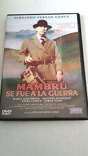 "DVD ""MAMBRU SE FUE A LA GUERRA"" FERNANDO FERNAN GOMEZ JORGE SANZ"