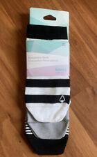 NWT IVIVVA by Lululemon Multi Black White Blue Everywhere Socks 3 Pack M/L