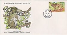 (WWF-59) 1977 Ghana no.59 Colobus monkey cover