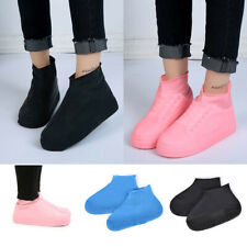 Shoes Reuse Cover Boots LaTeX Foot Waterproof Anti-slip Rainy Overshoes Non-slip