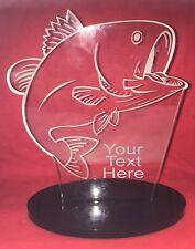 Engraved Fishing Award Carp Reel Fly Rod Net Angling