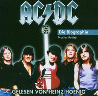 "MARTIN HUXLEY ""AC/DC  -DIE BIOGRAPHIE"" HÖRBUCH 2 CD NEU"