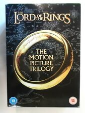Lord of The Rings Motion Picture Trilogy Film Edition Triple 3 DVD BOXSET